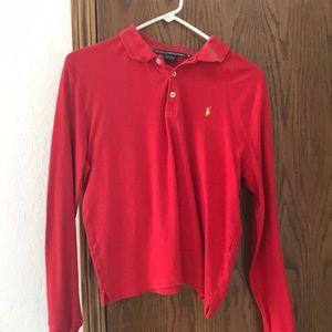 Vintage Red Ralph Lauren long sleeve for sale